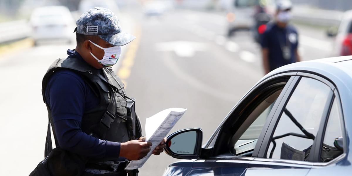 Van 4,349 multas por Hoy no Circula Sanitario