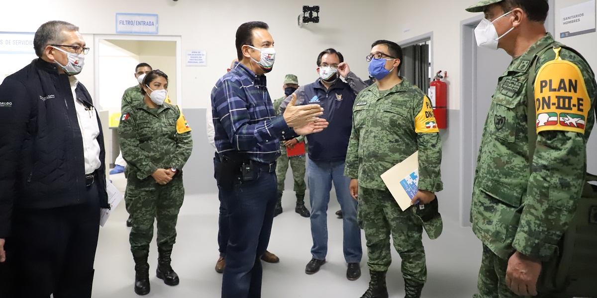 Amplían red de atención hospitalaria para pacientes con Covid-19