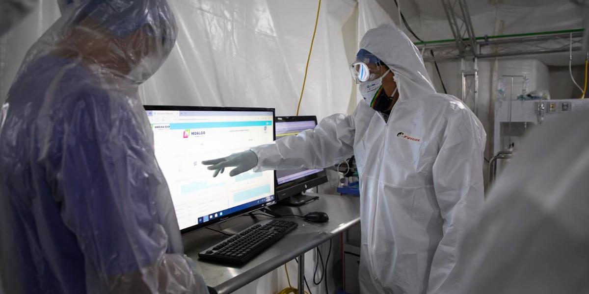 Implementa Hidalgo sistema de telemetría para monitoreo de pacientes Covid-19