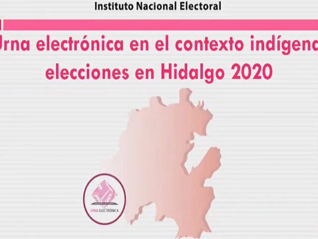 """IEEH organiza panel virtual """"Urna electrónica en el contexto indígena"""""""