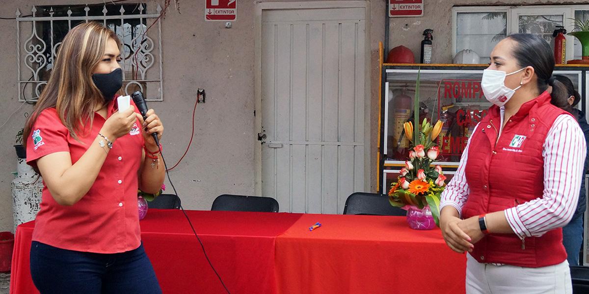 Manifiestan comerciantes apoyo a Ixchel Gutiérrez en Tizayuca