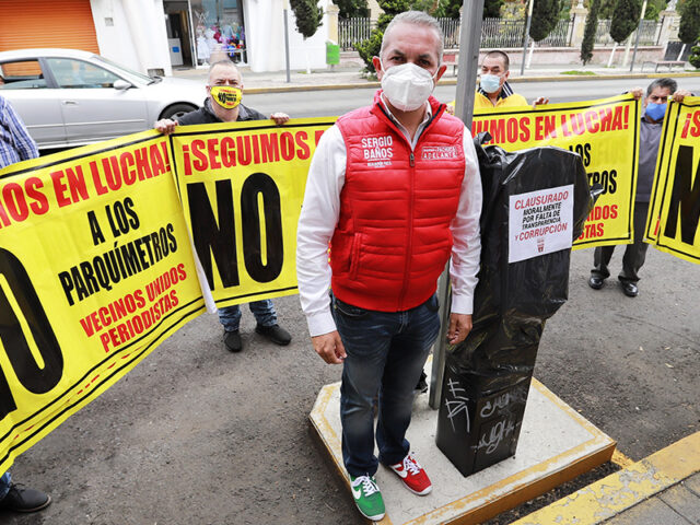 Ve Sergio Baños posible desvío de recursos en parquímetros