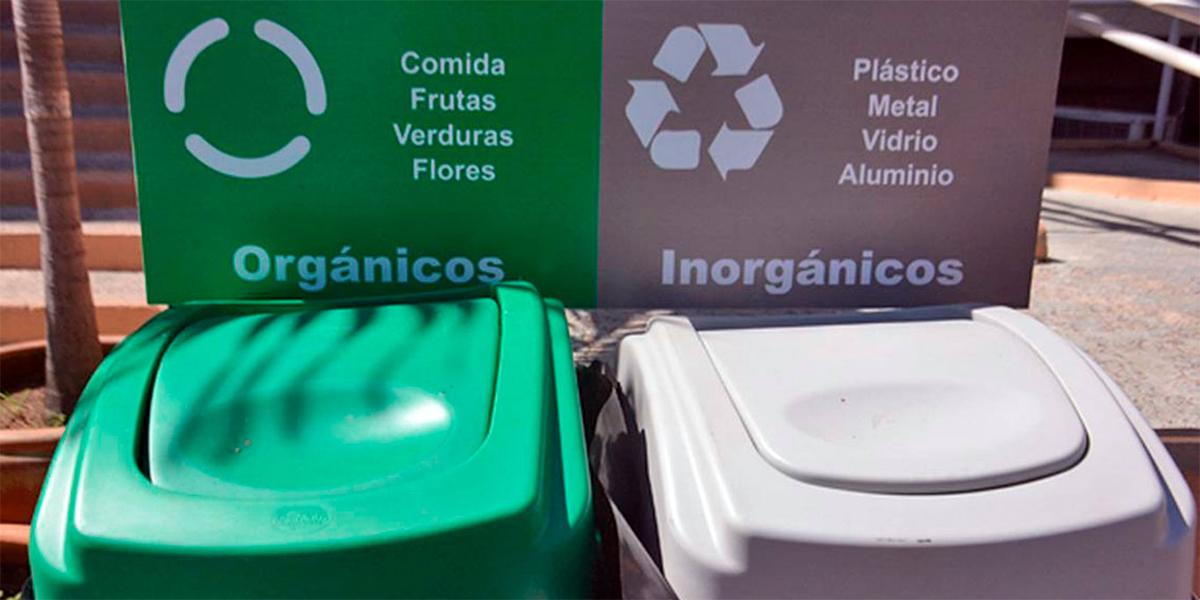 Proponen volver obligatoria la separación de basura orgánica e inorgánica