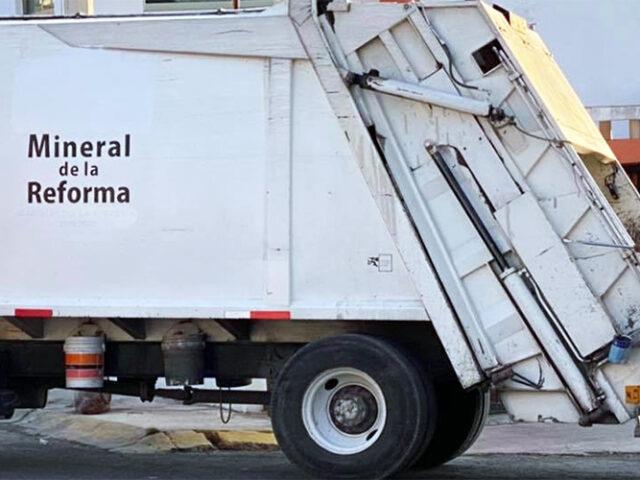 Permitirá app conocer ubicación de camiones de basura en Mineral de la Reforma