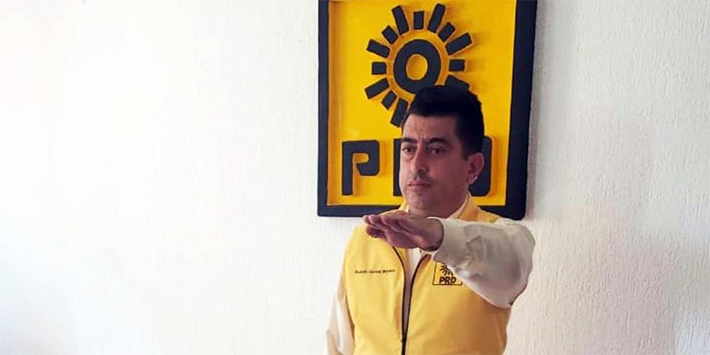 Ricardo Gómez Moreno, nuevo dirigente del PRD en Hidalgo