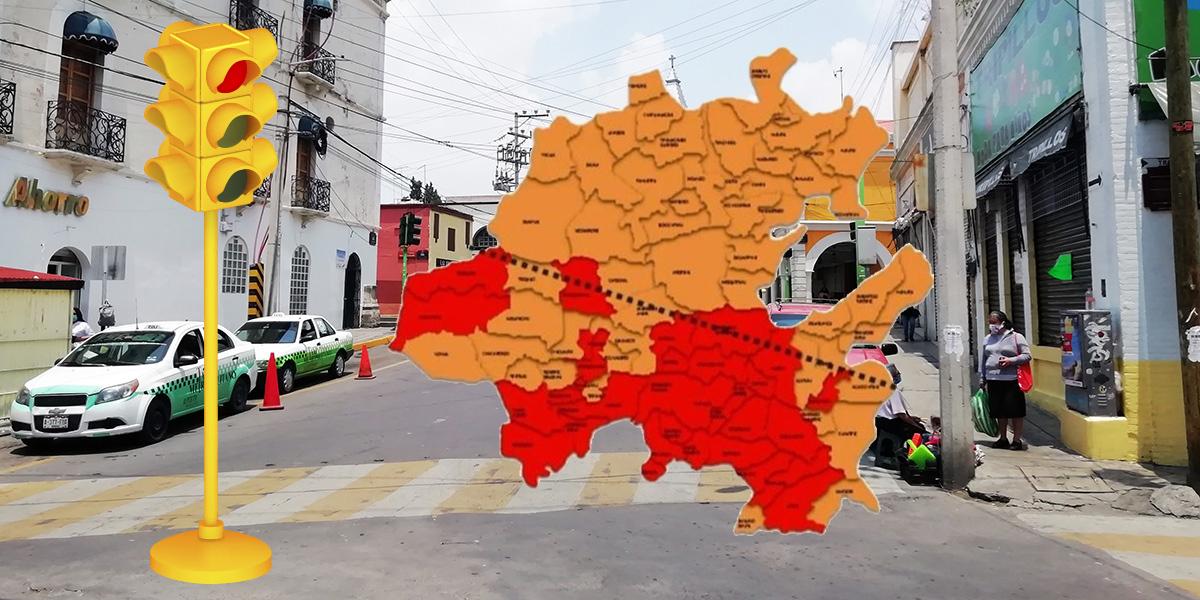 Seguirán en semáforo rojo 33 municipios de Hidalgo: Salud estatal