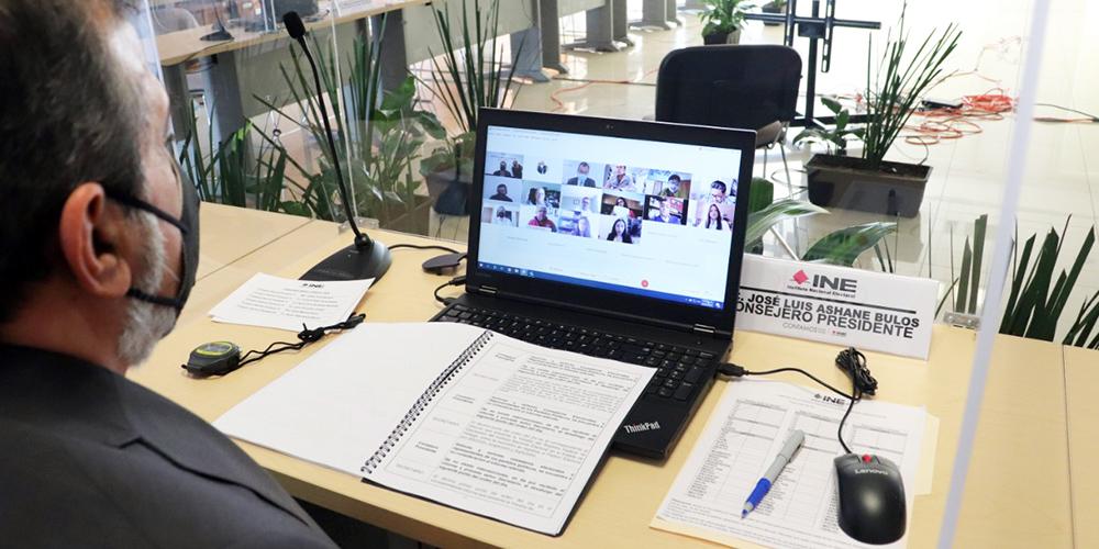 Avanza INE Hidalgo en organización de proceso electoral